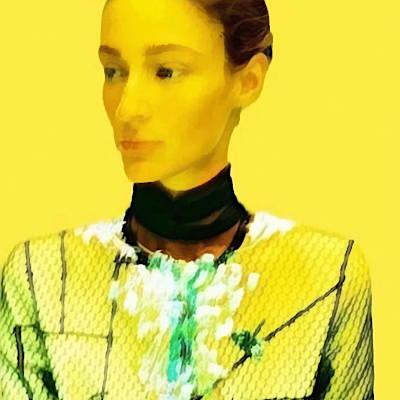 Illusion ornementale - Empreinte en relief créée par Invenio Flory pour Schiaparelli