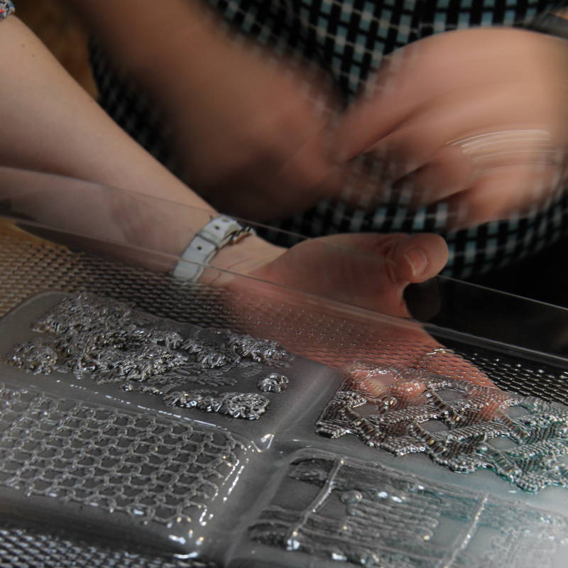 Thermoformage - Empreinte textile - Invenio Flory
