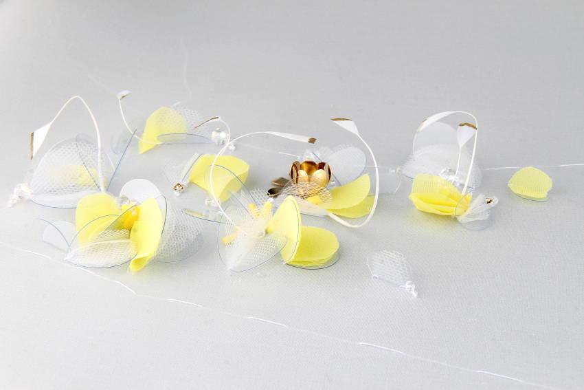 Vibration - Broderie en transparence créée par Invenio Flory pour Adélie Métayer