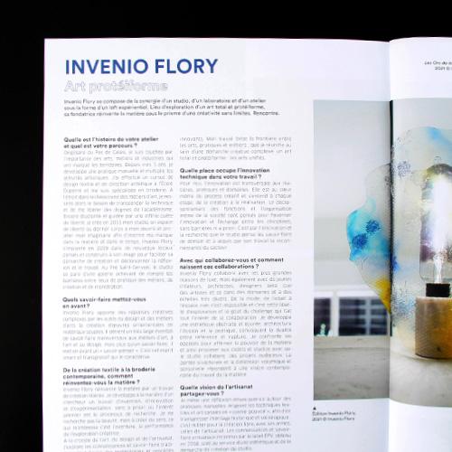 Invenio Flory - Article Archistorm- 2021- Parution